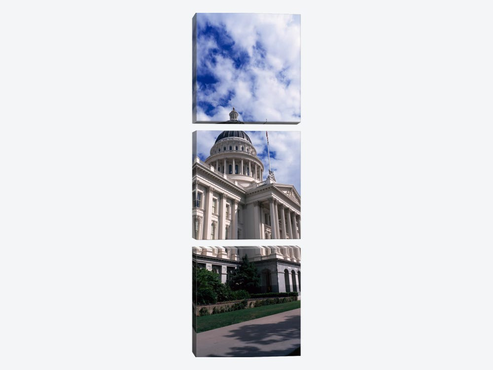 State Capital Sacramento CA USA by Panoramic Images 3-piece Art Print