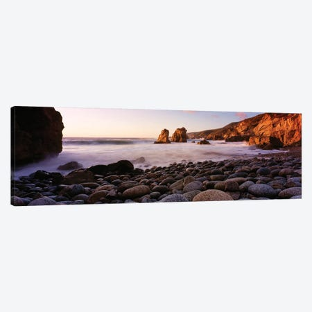 Rocky coast of Garrapata State Park, California, USA Canvas Print #PIM15703} by Panoramic Images Canvas Print