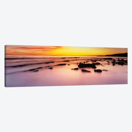 Rodeo Beach at sunrise, Golden Gate National Recreation Area, Marin County, California, USA Canvas Print #PIM15704} by Panoramic Images Canvas Art