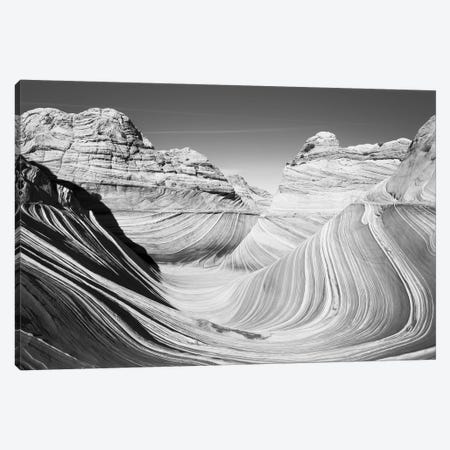 Scenic landscape with rock formations, Arizona, USA Canvas Print #PIM15719} by Panoramic Images Canvas Art