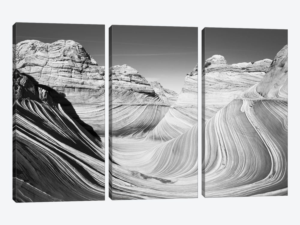 Scenic landscape with rock formations, Arizona, USA by Panoramic Images 3-piece Art Print