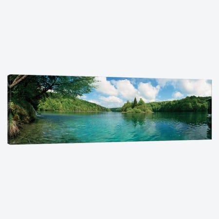 Scenic view of a lake, Plitvice Lakes National Park, Lika-Senj County, Karlovac County, Croatia Canvas Print #PIM15721} by Panoramic Images Art Print