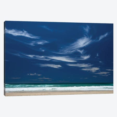 Scenic view of the ocean, Byron Bay, New South Wales, Australia Canvas Print #PIM15728} by Panoramic Images Canvas Art Print