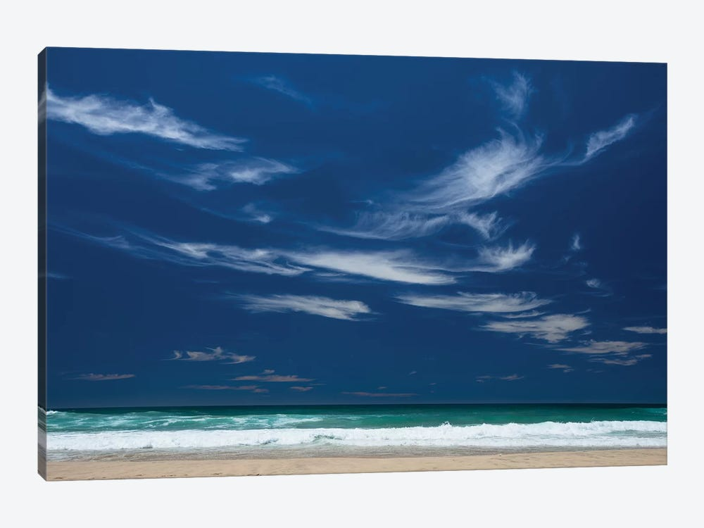 Scenic view of the ocean, Byron Bay, New South Wales, Australia by Panoramic Images 1-piece Canvas Art Print