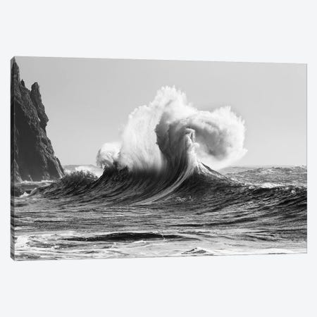 Scenic view of wave, Cape Disappointment, Oregon, USA Canvas Print #PIM15730} by Panoramic Images Canvas Art