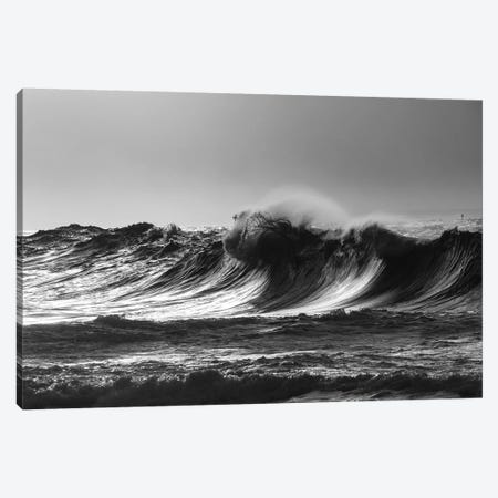 Scenic view of waves, Cape Disappointment, Oregon, USA Canvas Print #PIM15731} by Panoramic Images Canvas Artwork