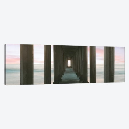 Scripps Pier into the Pacific Ocean, La Jolla, San Diego, San Diego County, California, USA Canvas Print #PIM15732} by Panoramic Images Canvas Art