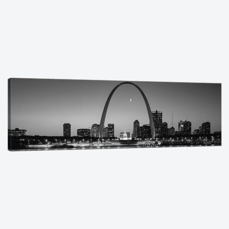 Skyline, St. Louis, MO, USA Canvas Print #PIM15746} by Panoramic Images Canvas Art