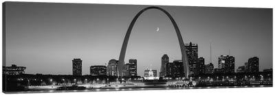 Skyline, St. Louis, MO, USA Canvas Art Print