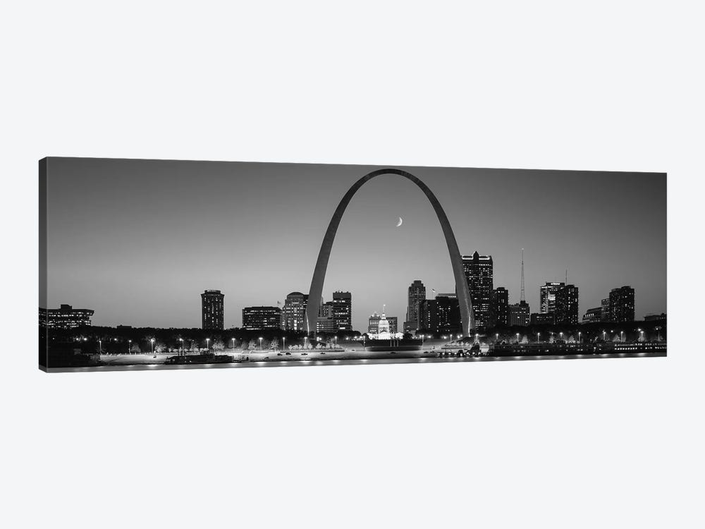 Skyline, St. Louis, MO, USA by Panoramic Images 1-piece Canvas Art Print