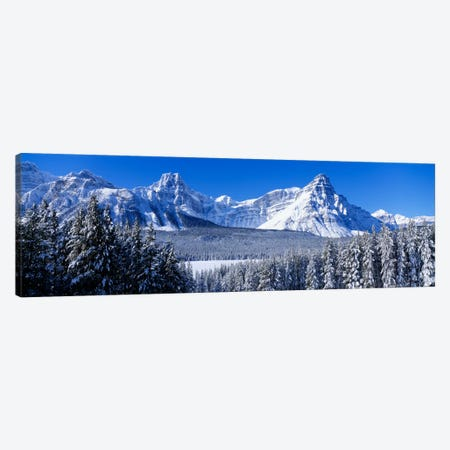 Banff National Park Alberta Canada 3-Piece Canvas #PIM1577} by Panoramic Images Canvas Art