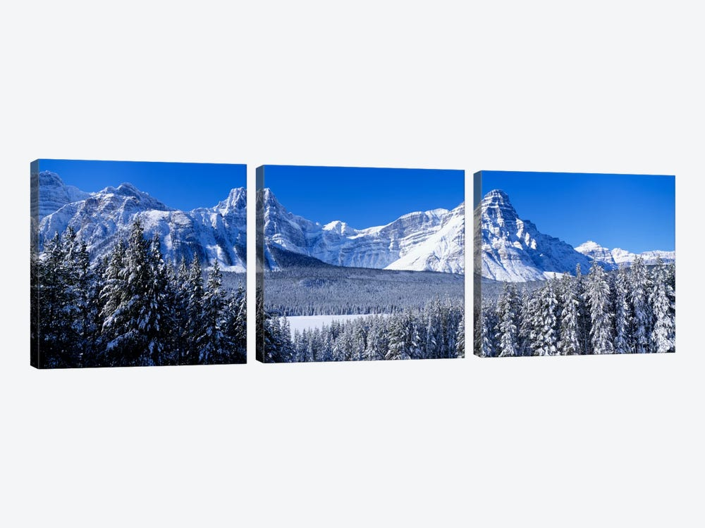 Banff National Park Alberta Canada by Panoramic Images 3-piece Canvas Wall Art