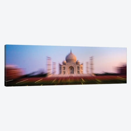 Taj Mahal exterior view, Agra, Uttar Pradesh, India Canvas Print #PIM15782} by Panoramic Images Canvas Art Print