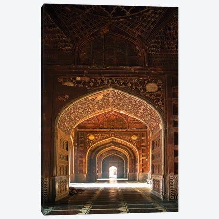 Taj Mahal interior, Agra, Uttar Pradesh, India Canvas Print #PIM15784} by Panoramic Images Canvas Artwork