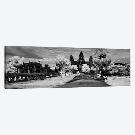 Terrace of Honor, Angkor Wat, Siem Reap, Cambodia Canvas Print #PIM15788} by Panoramic Images Canvas Art Print