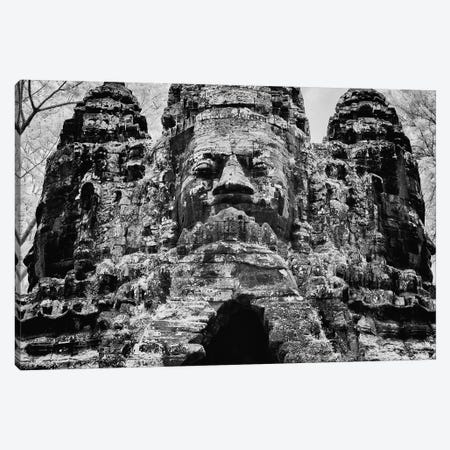 The south gate of the Khmer temple complex of Angkor Thom, Siem Reap, Cambodia Canvas Print #PIM15789} by Panoramic Images Canvas Print