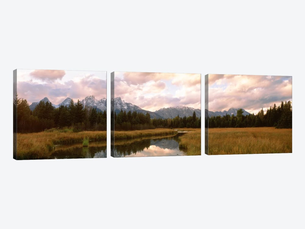 Grand Teton National Park WY USA by Panoramic Images 3-piece Art Print