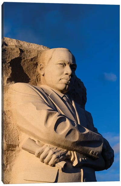 The Stone Of Hope (Lei Yixin), Martin Luther King Jr. Memorial, West Potomac Park, National Mall, Washington, D.C. Canvas Art Print