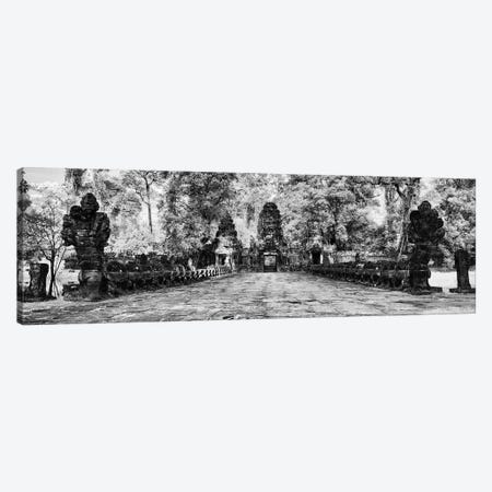 The west gate of the Khmer temple of Preah Khan, Siem Reap, Cambodia Canvas Print #PIM15791} by Panoramic Images Canvas Art