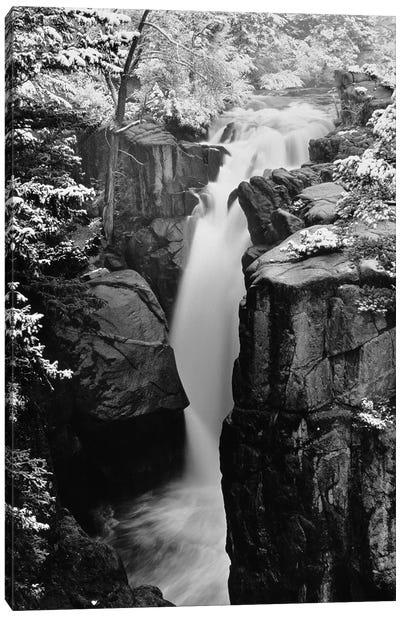 Tower Falls, West Virginia, USA Canvas Art Print