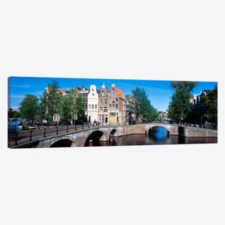 Row Houses, Amsterdam, Netherlands Canvas Print #PIM157} by Panoramic Images Canvas Print