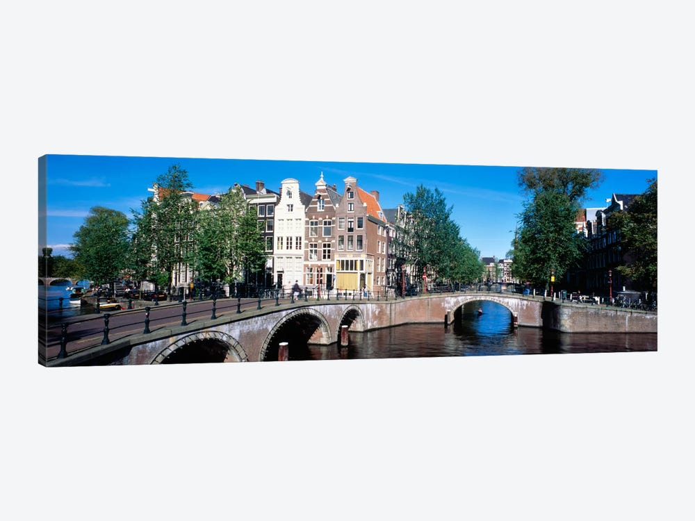 Row Houses, Amsterdam, Netherlands by Panoramic Images 1-piece Canvas Print