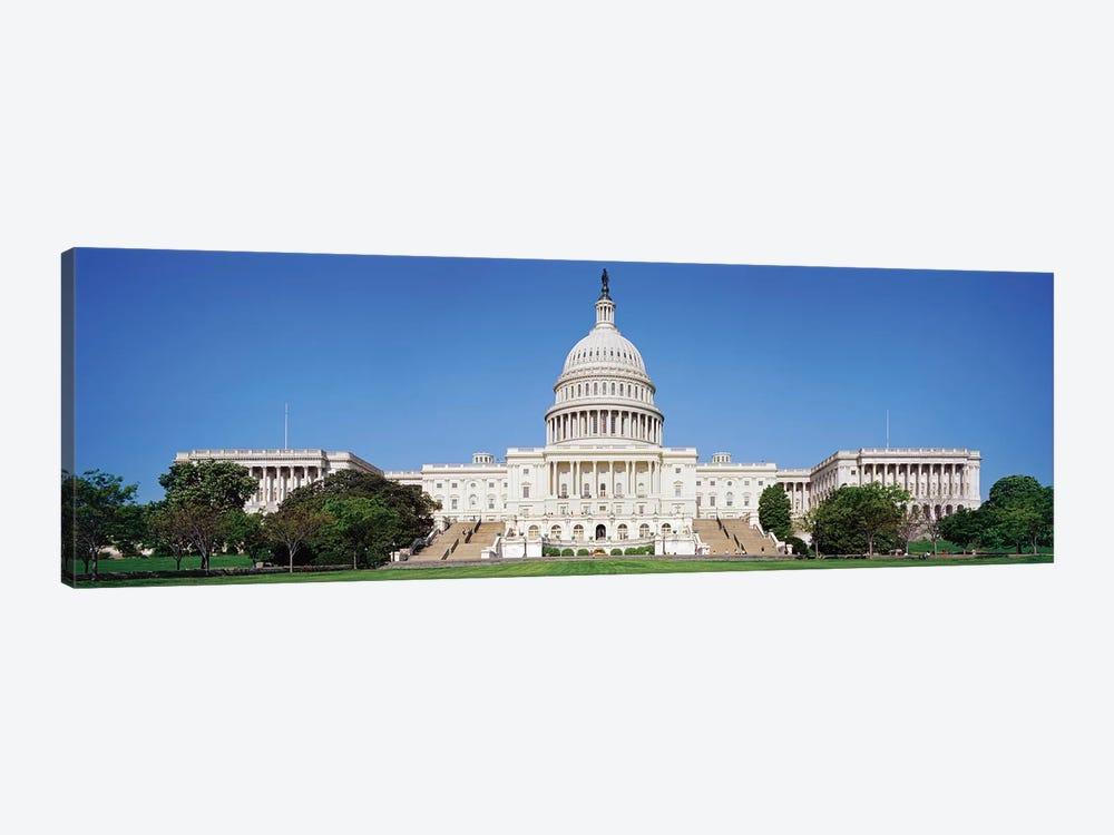 United States Capitol Building Washington Dc Usa Canvas Print