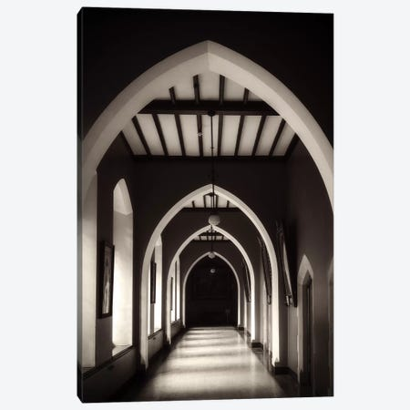 View of Arched Hallway at St.Patricks College in Maynooth, Maynooth, County Kildare, Ireland Canvas Print #PIM15818} by Panoramic Images Canvas Art Print