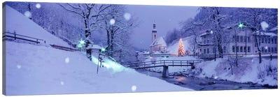 Winter Ramsau Germany Canvas Print #PIM1581