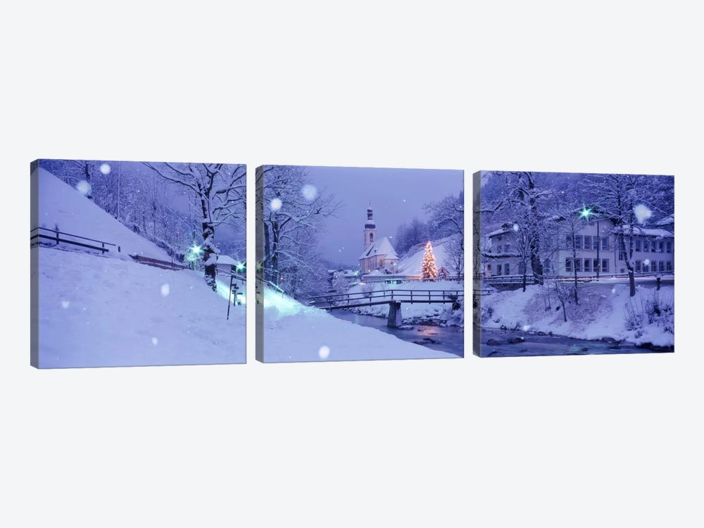 Winter Ramsau Germany by Panoramic Images 3-piece Canvas Print