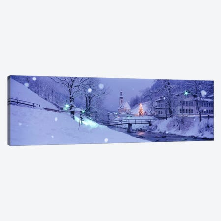 Winter Ramsau Germany Canvas Print #PIM1581} by Panoramic Images Canvas Artwork
