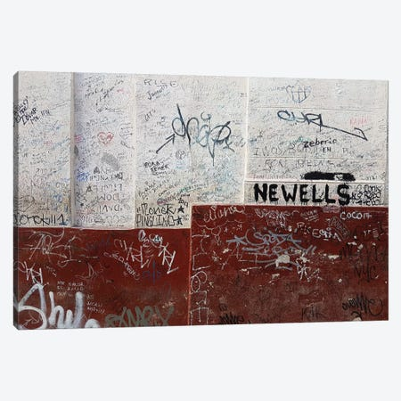View of text scribbled on wall, Havana, Cuba Canvas Print #PIM15850} by Panoramic Images Canvas Print