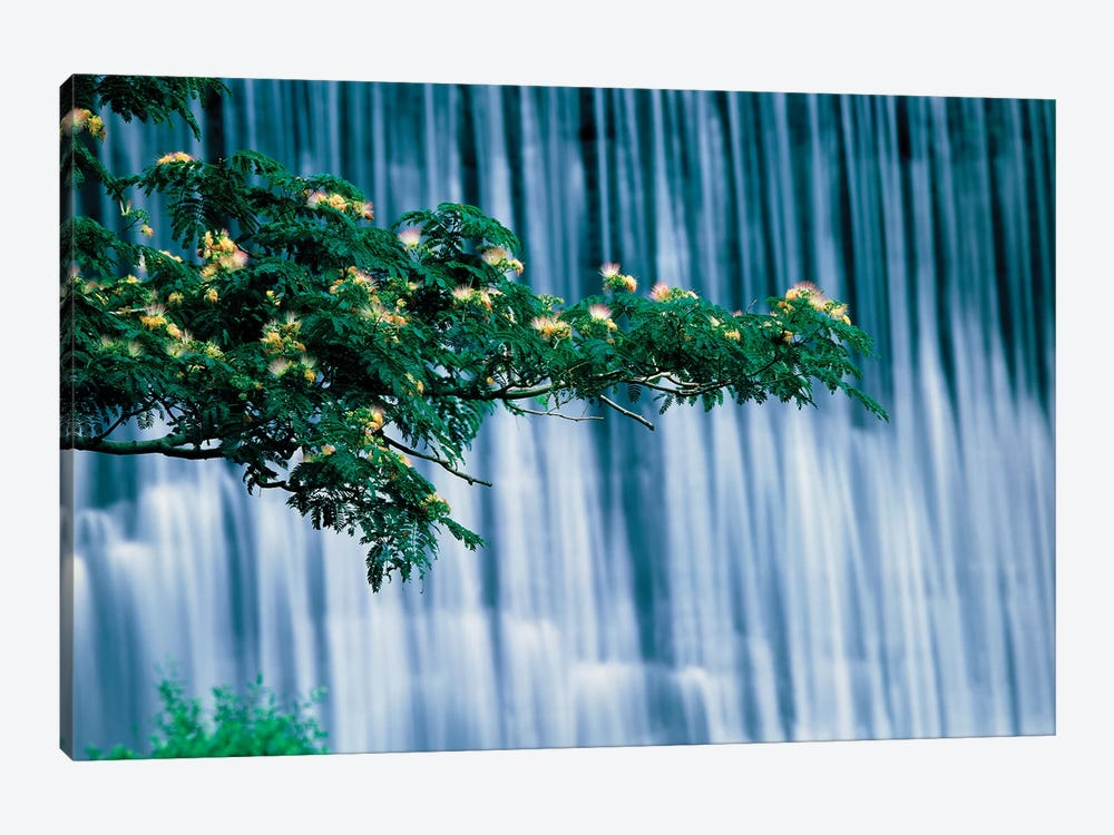 Waterfalls, Kamo-River, Kyoto, Japan by Panoramic Images 1-piece Canvas Wall Art