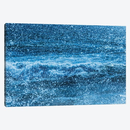 Waves and sea spray Canvas Print #PIM15868} by Panoramic Images Canvas Wall Art