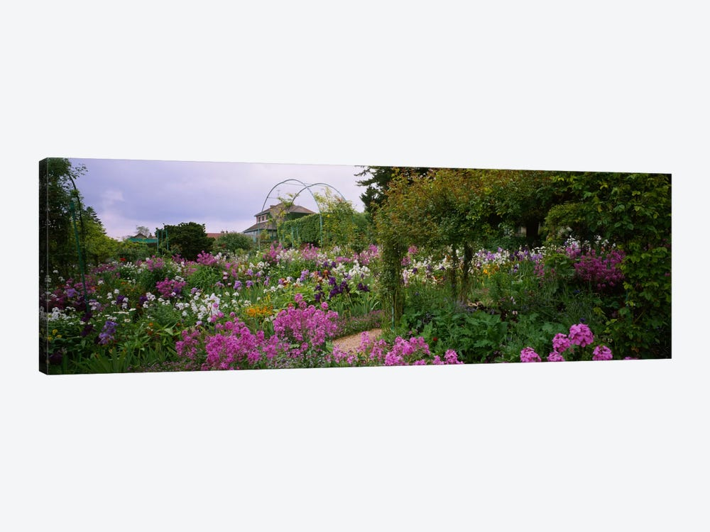 Clos Normand, Fondation Claude Monet, Giverny, France by Panoramic Images 1-piece Canvas Wall Art