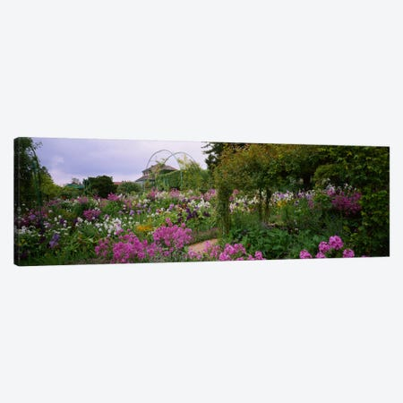 Clos Normand, Fondation Claude Monet, Giverny, France Canvas Print #PIM1586} by Panoramic Images Canvas Print