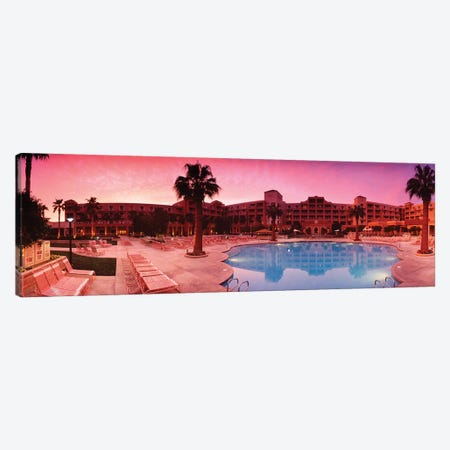 Resort Palm Springs Canvas Print #PIM15896} by Panoramic Images Canvas Wall Art