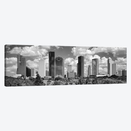 Skyscrapers In A City, Houston, Texas, USA Canvas Print #PIM15898} by Panoramic Images Art Print