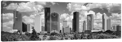 Skyscrapers In A City, Houston, Texas, USA Canvas Art Print