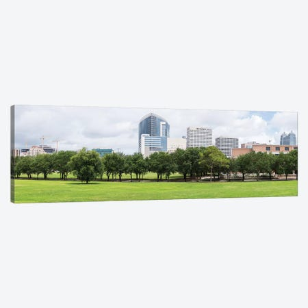 Texas Medical Center And Rice University In Houston, Texas, USA Canvas Print #PIM15901} by Panoramic Images Canvas Art Print