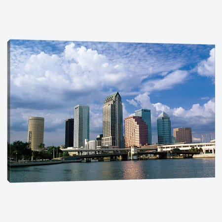 Downtown Skyline, Tampa, Florida, USA Canvas Print #PIM15907} by Panoramic Images Canvas Art