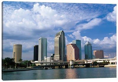 Downtown Skyline, Tampa, Florida, USA Canvas Art Print