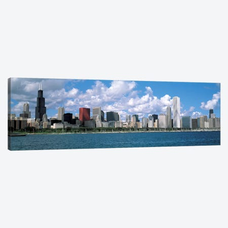 CloudsChicago, Illinois, USA Canvas Print #PIM1591} by Panoramic Images Canvas Art Print