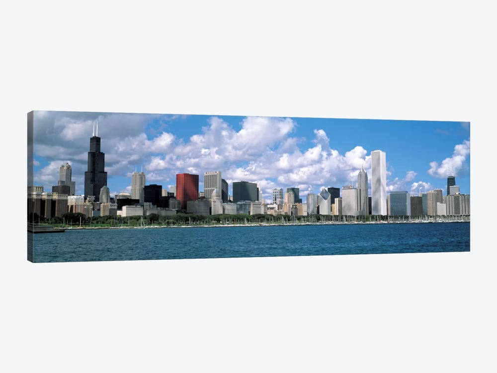 CloudsChicago, Illinois, USA by Panoramic Images 1-piece Canvas Wall Art