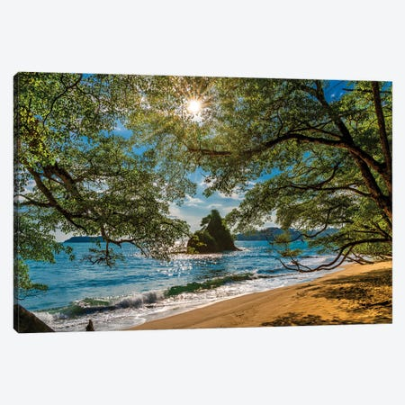 Beach, Corcovado National Park, Osa Peninsula, Costa Rica. Canvas Print #PIM15923} by Panoramic Images Art Print
