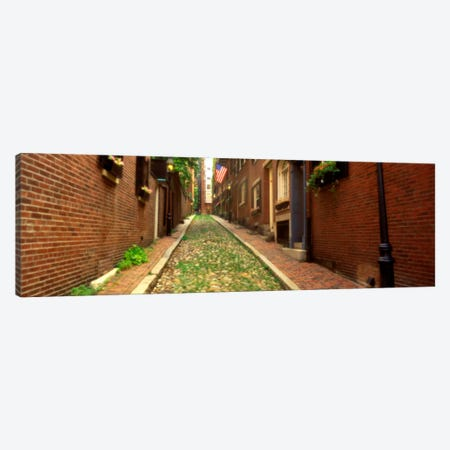 USA, Massachusetts, Boston, Beacon Hill Canvas Print #PIM1592} by Panoramic Images Canvas Print