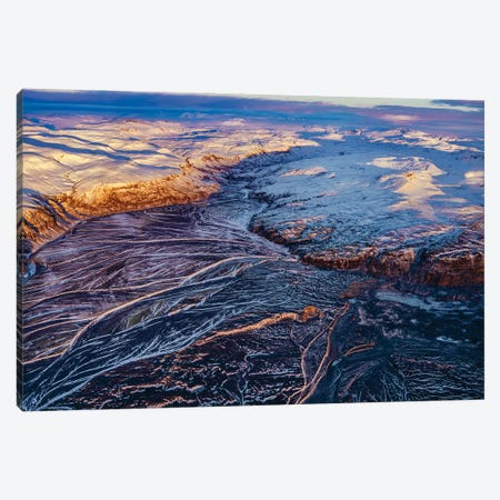 Glacial Landscapes, Vatnajokull National Park, Vatnajokull Ice Cap, Iceland. Canvas Print #PIM15943} by Panoramic Images Canvas Art Print