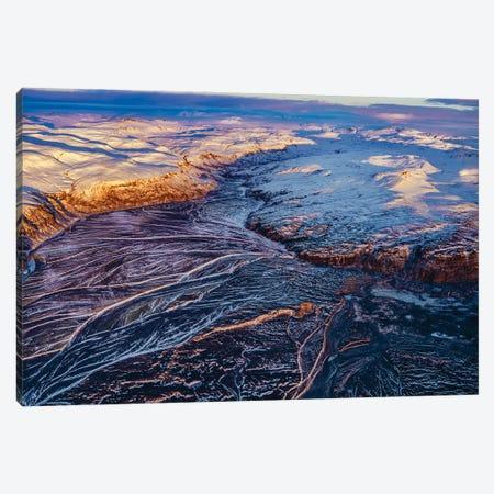 Glacial Landscapes, Vatnajokull National Park, Vatnajokull Ice Cap, Iceland. Canvas Print #PIM15943} by Panoramic Images Canvas Art Print