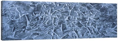 Fractured Ice On The St. Lawrence River, Montral, Canada Canvas Art Print