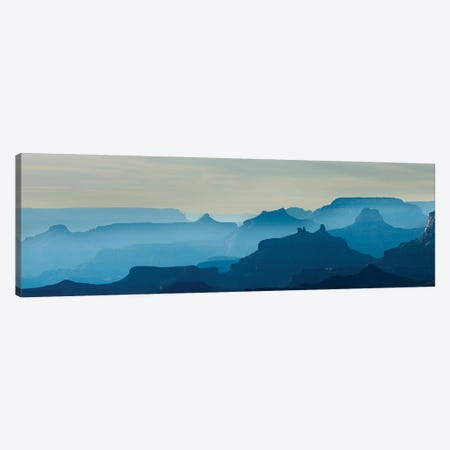 Grand Canyon National Park At Sunset, Arizona, USA Canvas Print #PIM15958} by Panoramic Images Canvas Wall Art